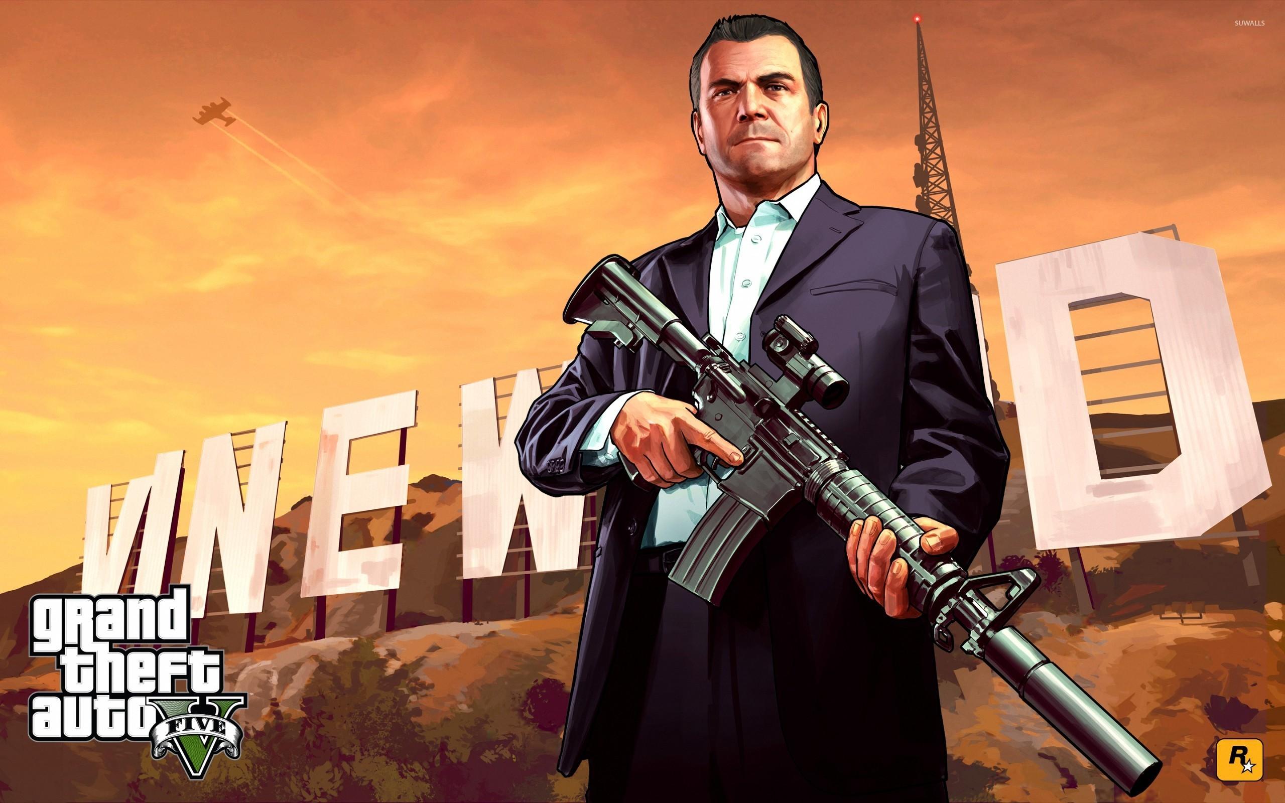 Michael - Grand Theft Auto V [2] wallpaper - Game ...