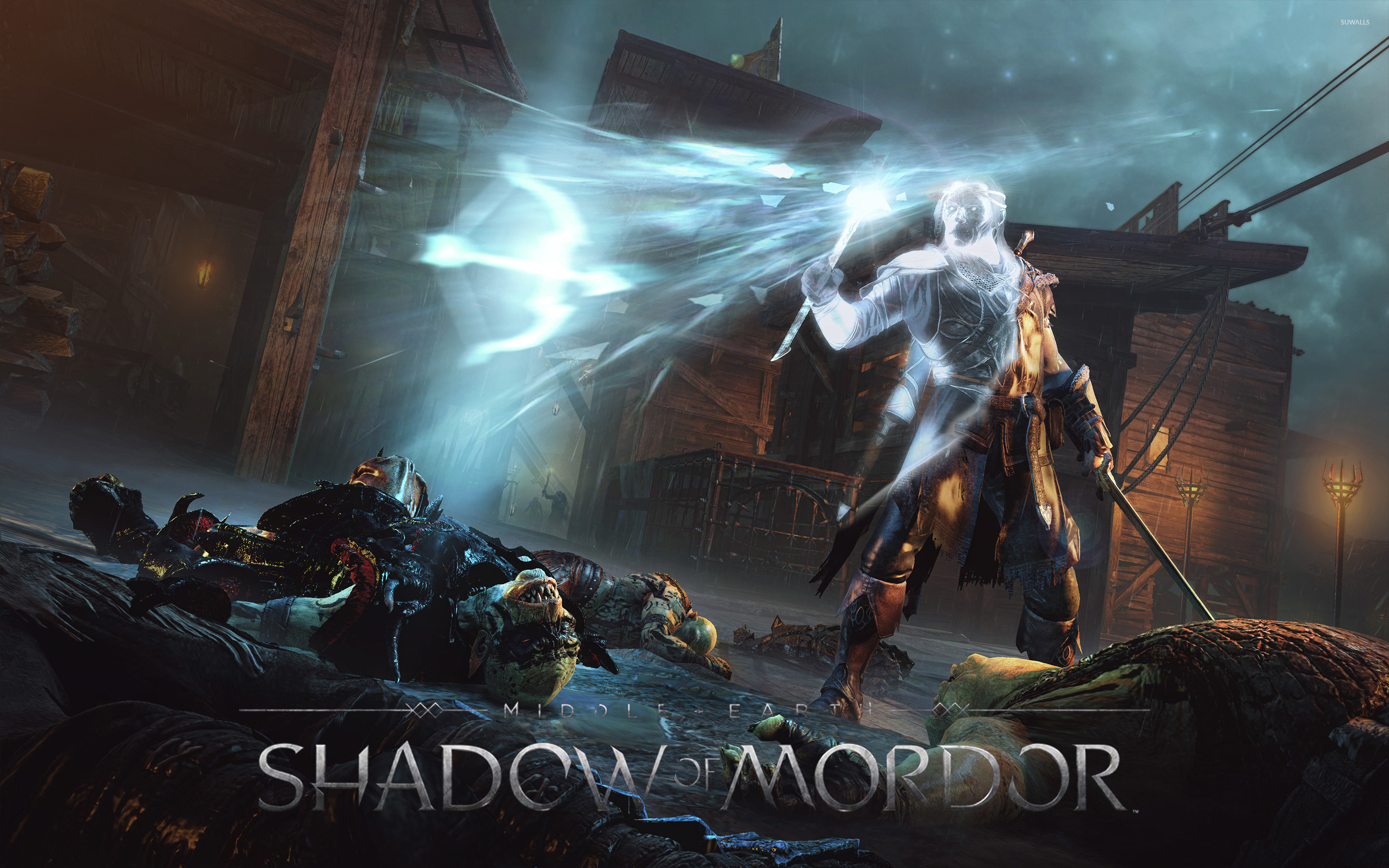 Middle Earth Shadow Of Mordor 8 Wallpaper Game Wallpapers
