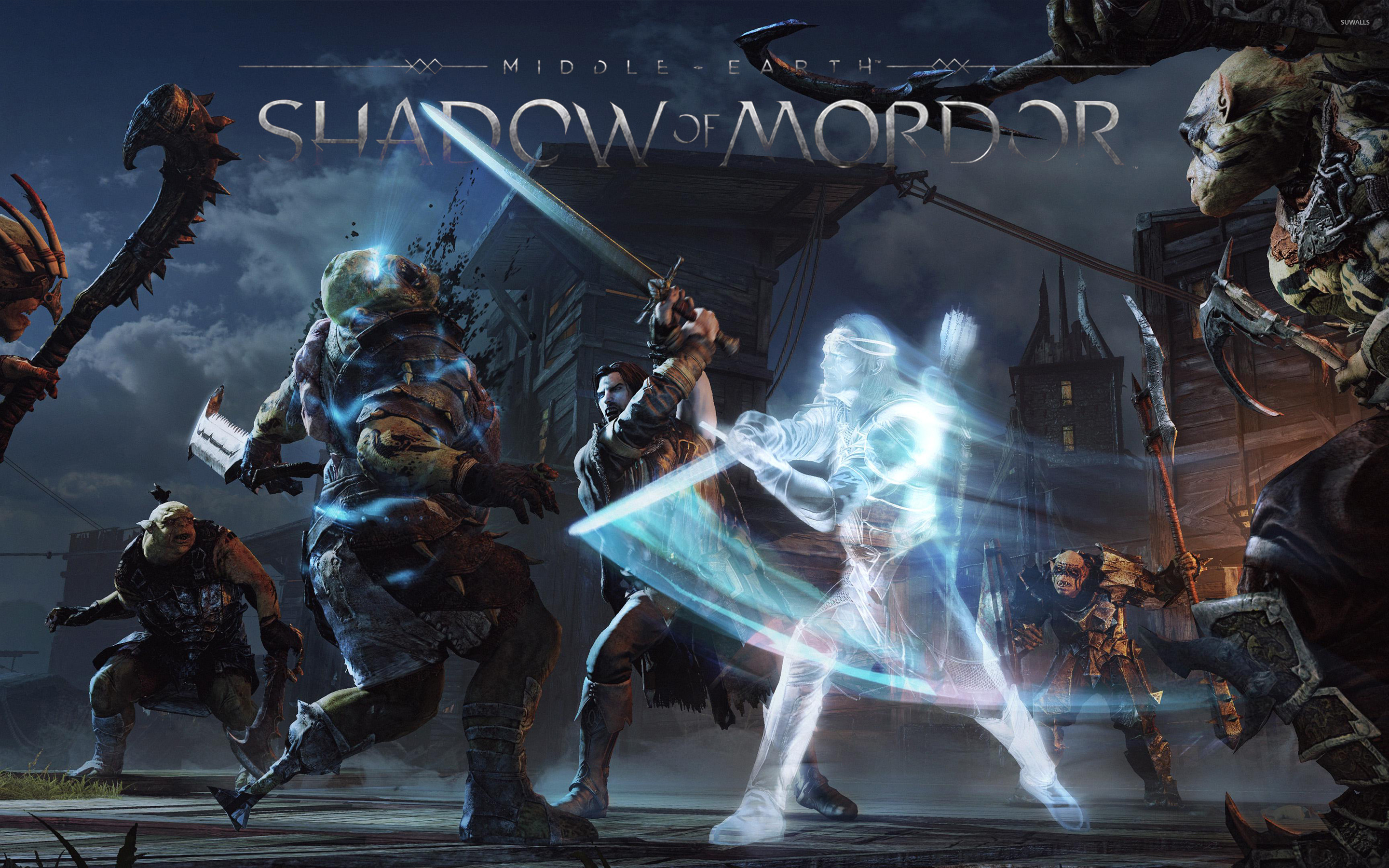Middle Earth Shadow Of Mordor 4 Wallpaper Game Wallpapers