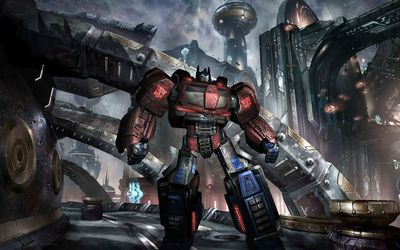 Mighty Megatron in Transformers wallpaper