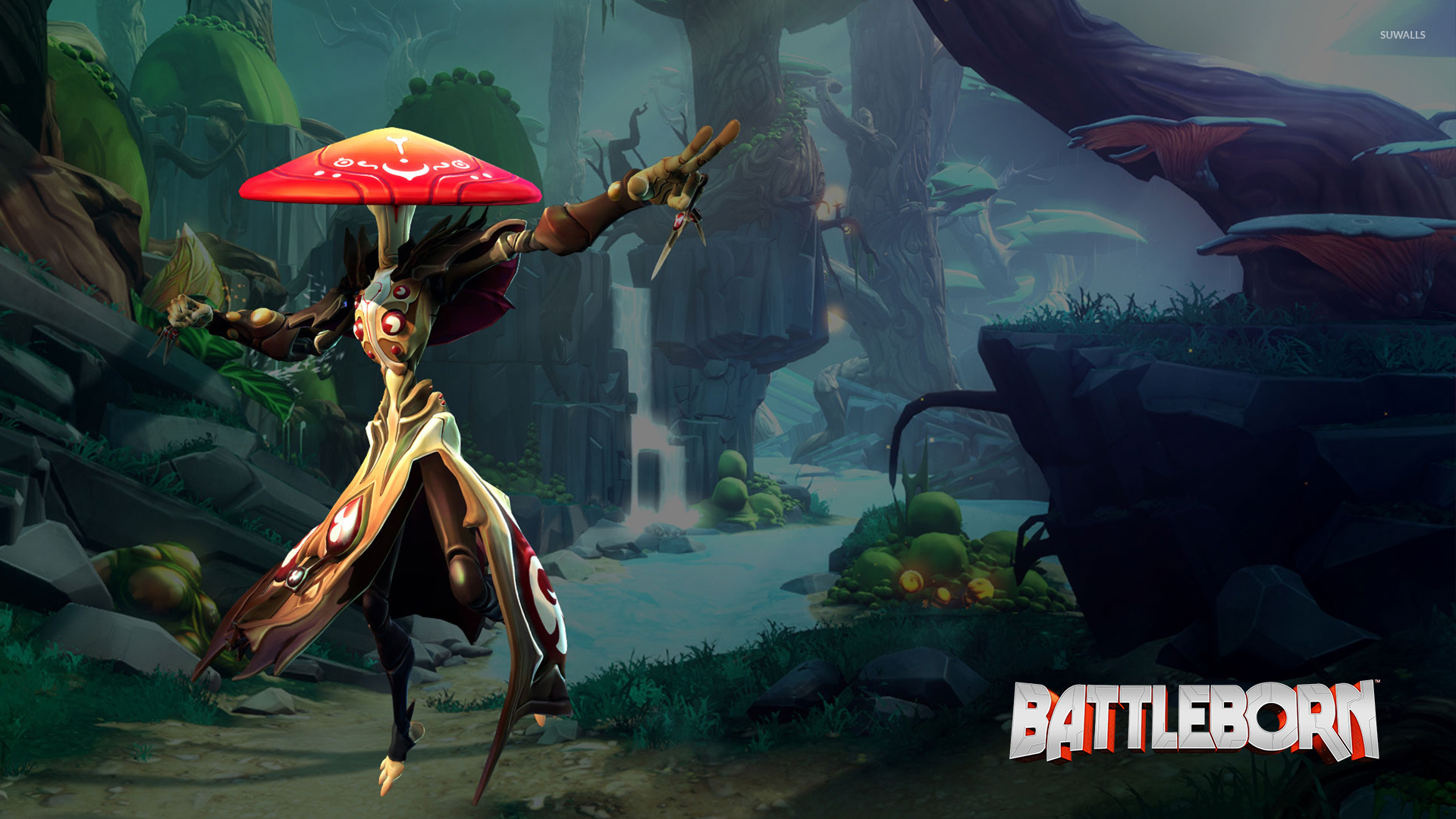 Miko In The Forest Battleborn Wallpaper Game Wallpapers 50000