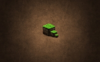 Minecraft cubes wallpaper 2560x1440 jpg