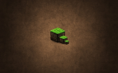 Minecraft cubes wallpaper