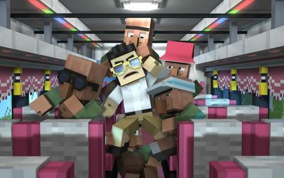 Minecraft Gangnam Style wallpaper