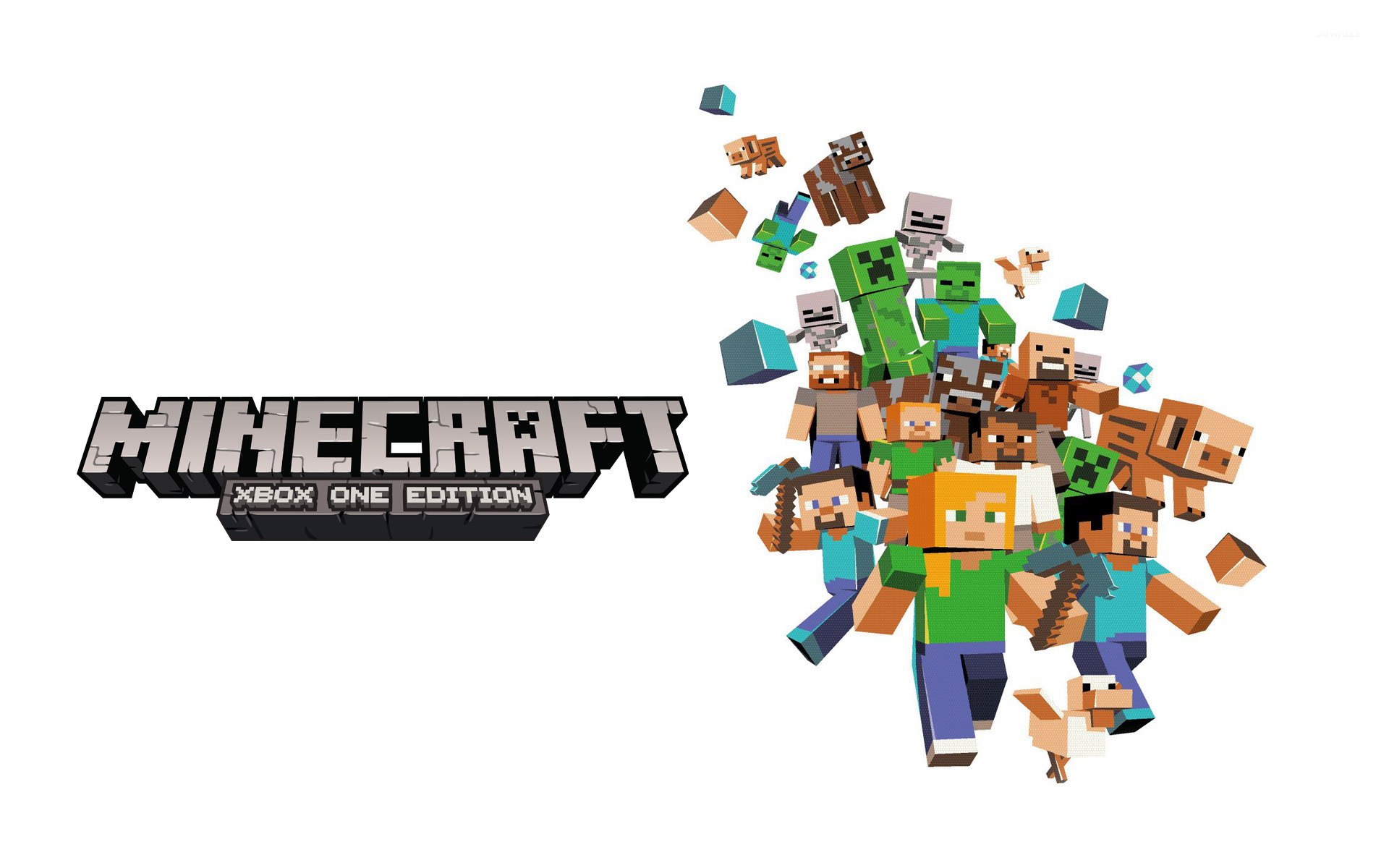 minecraft wallpaper 1920x1200 original - photo #1