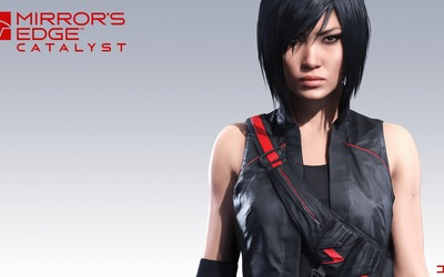 Faith looking straight ahead in Mirror's Edge Catalyst wallpaper