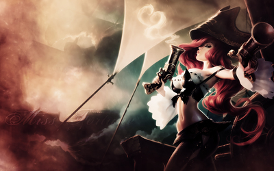 Miss Fortune - League of Legends [2] wallpaper