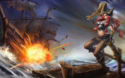 Miss Fortune, The Bounty Hunter - League of Legends wallpaper