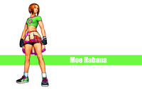 Moe Habana - The King of Fighters wallpaper 2880x1800 jpg