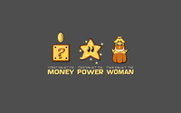 Money, power, woman wallpaper 1920x1200 jpg