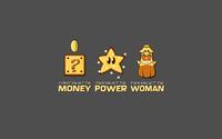 Money, power, woman wallpaper 1920x1200 jpg