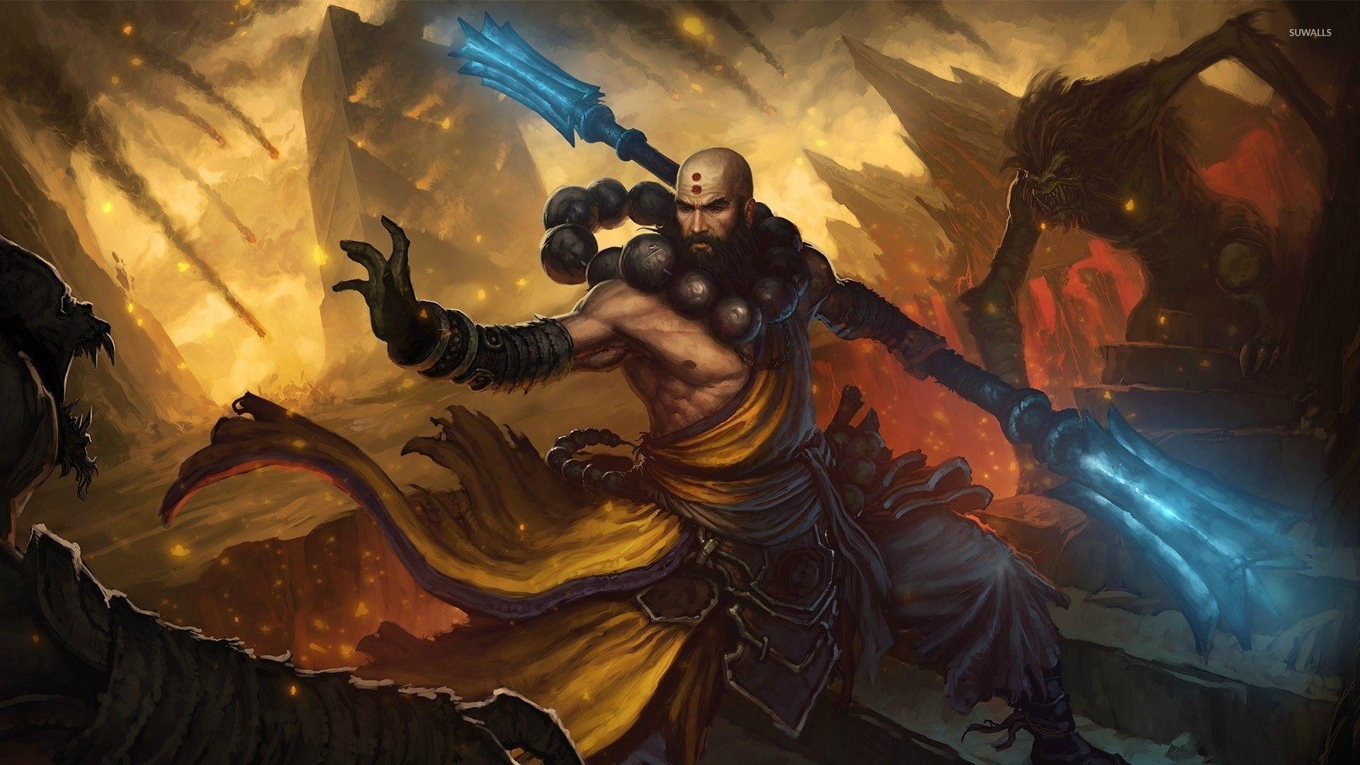 Monk From Diablo Iii Wallpaper Game Wallpapers 51906