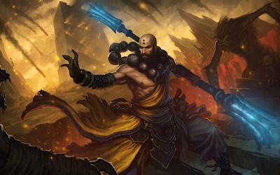 Monk from Diablo III wallpaper
