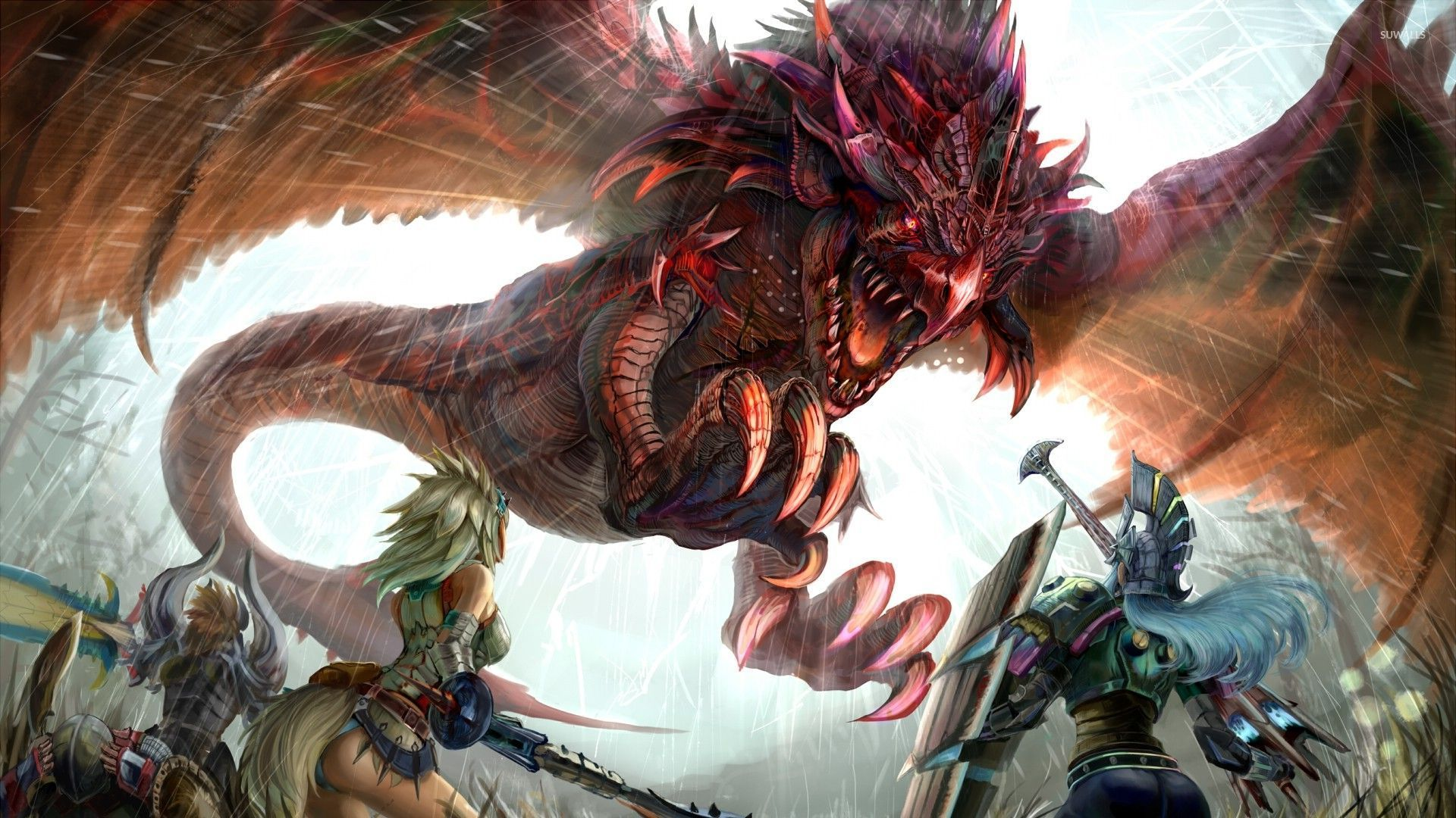 monster hunter 2 wallpaper game wallpapers 29144