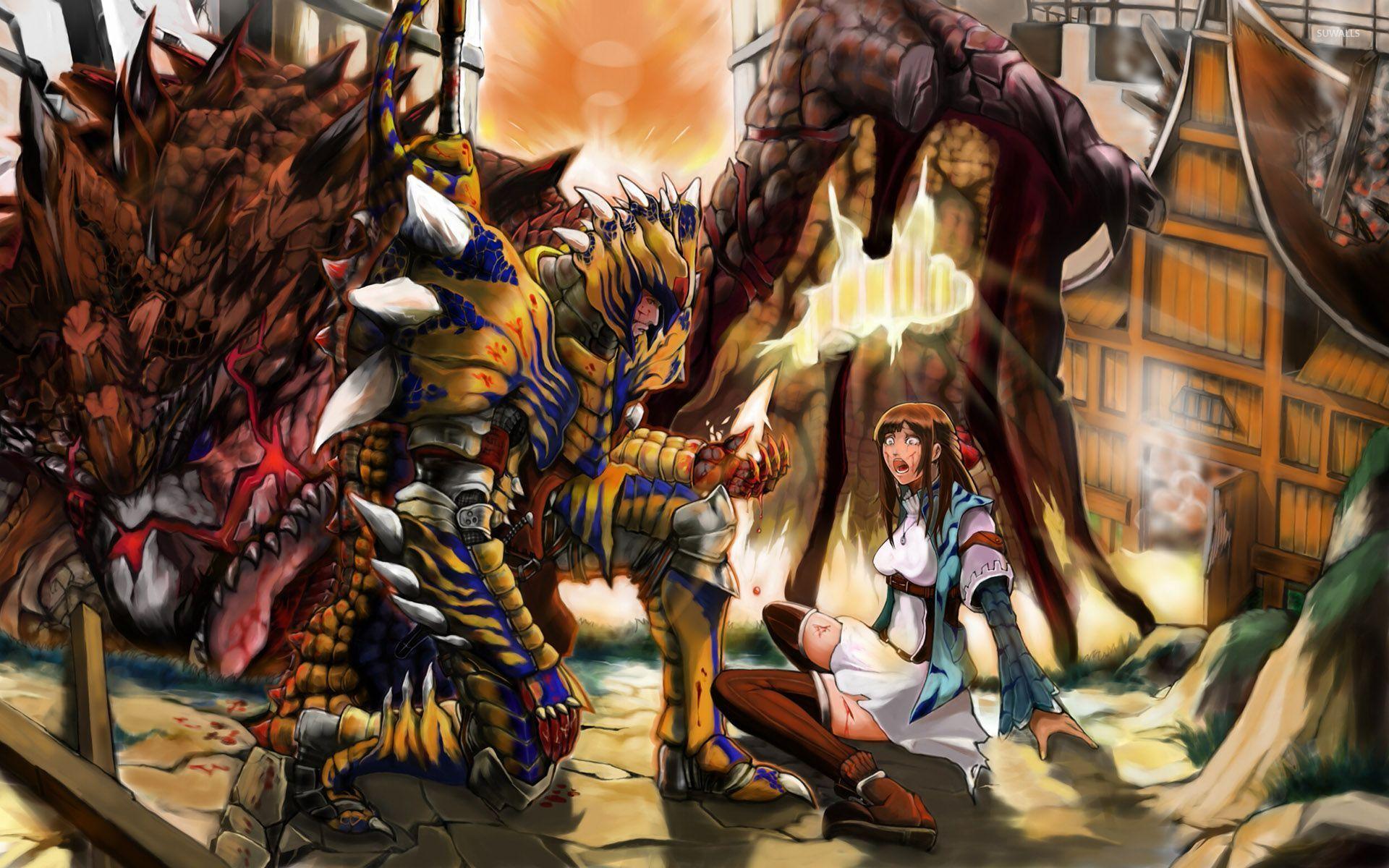 Monster hunter 8 wallpaper game wallpapers 29271 monster hunter 8 wallpaper voltagebd Images