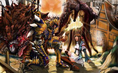 Monster Hunter [8] wallpaper