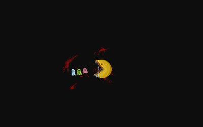 Monster Pac-Man wallpaper