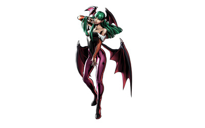 Morrigan Aensland - Marvel vs. Capcom wallpaper
