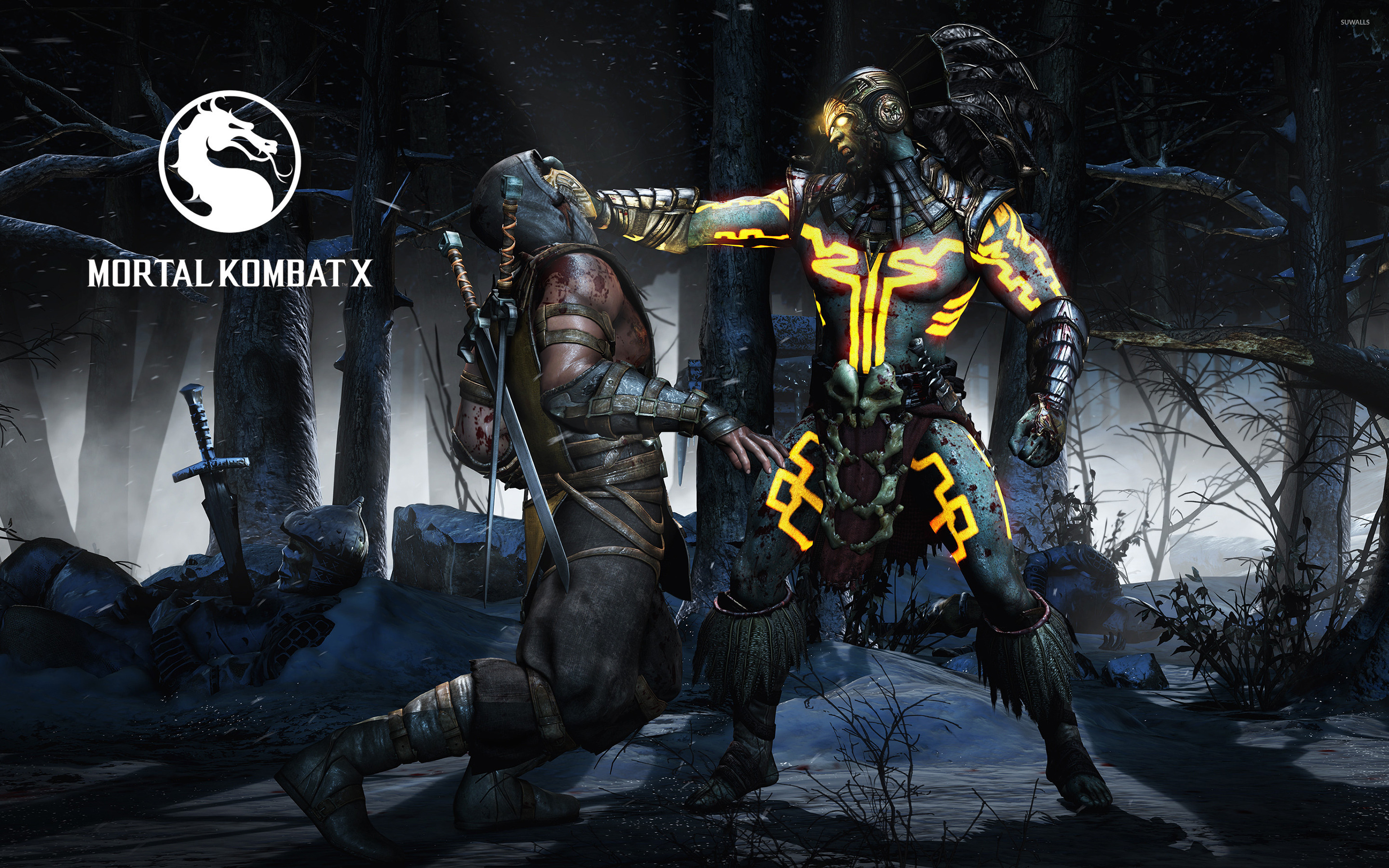 Mortal Kombat Game Wallpapers Hd Wallpaper For Desktop
