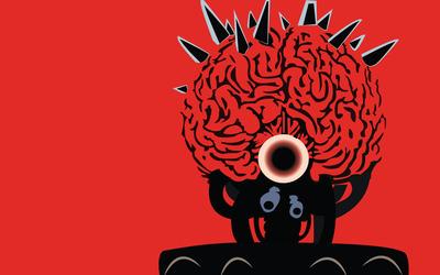 Mother Brain - Metroid Prime wallpaper