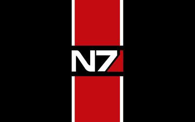 N7 - Mass Effect wallpaper