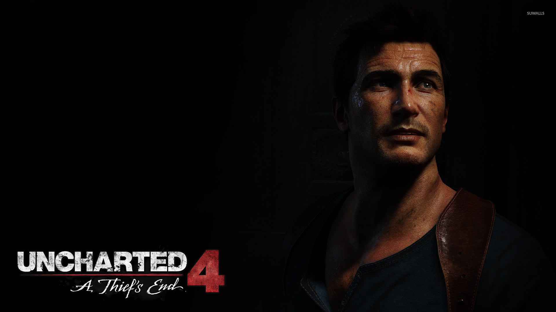 Nathan Drake In Uncharted 4 A Thief S End Wallpaper Game