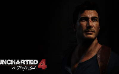 Nathan Drake in Uncharted 4: A Thief's End wallpaper
