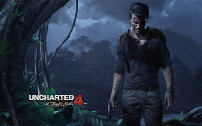 Nathan Drake - Uncharted 4: A Thief's End wallpaper