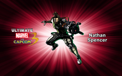 Nathan Spencer - Ultimate Marvel vs. Capcom 3 wallpaper
