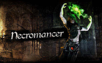 Necromancer - Hellraid wallpaper