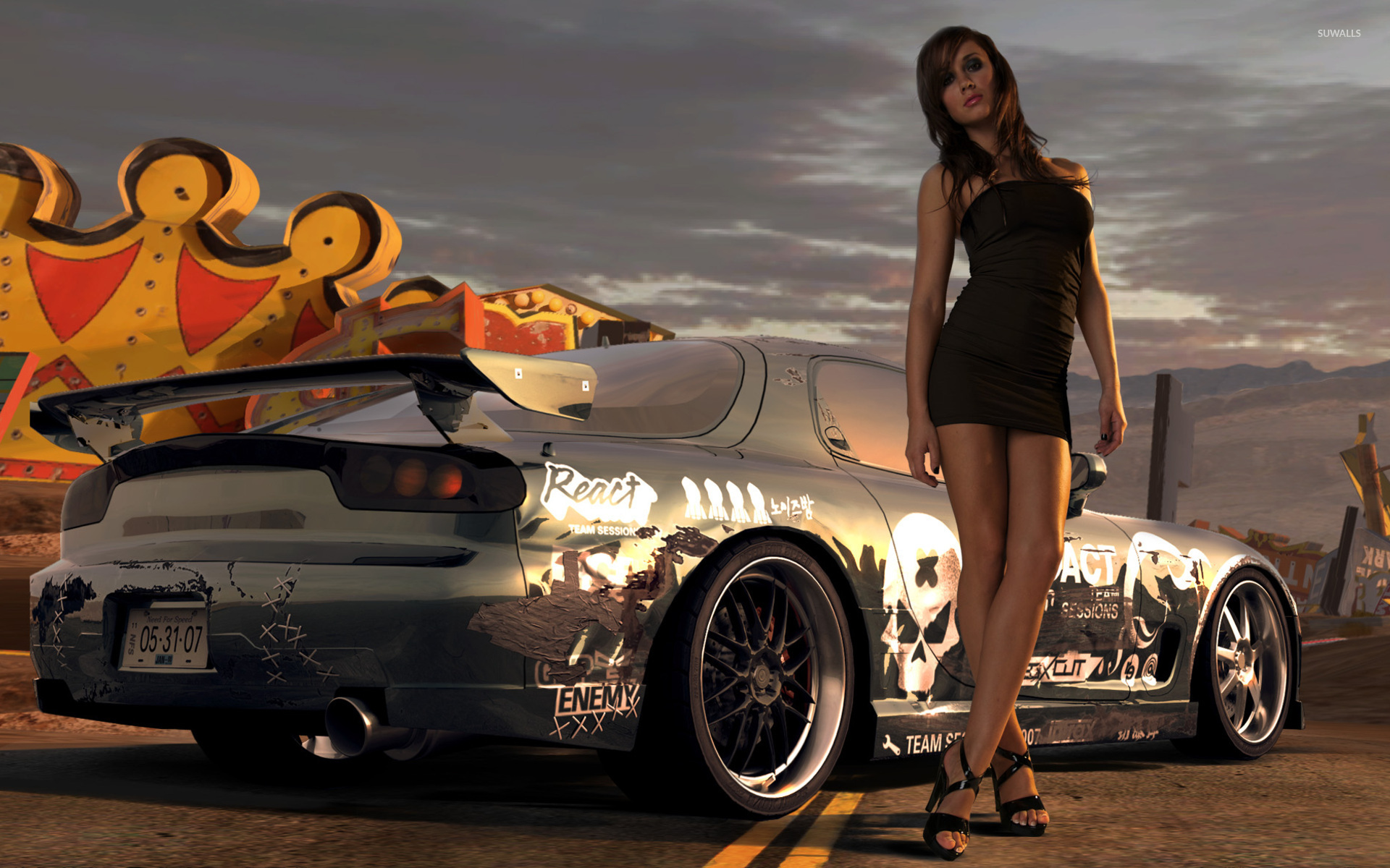 Need For Speed Prostreet Wallpaper Game Wallpapers 810