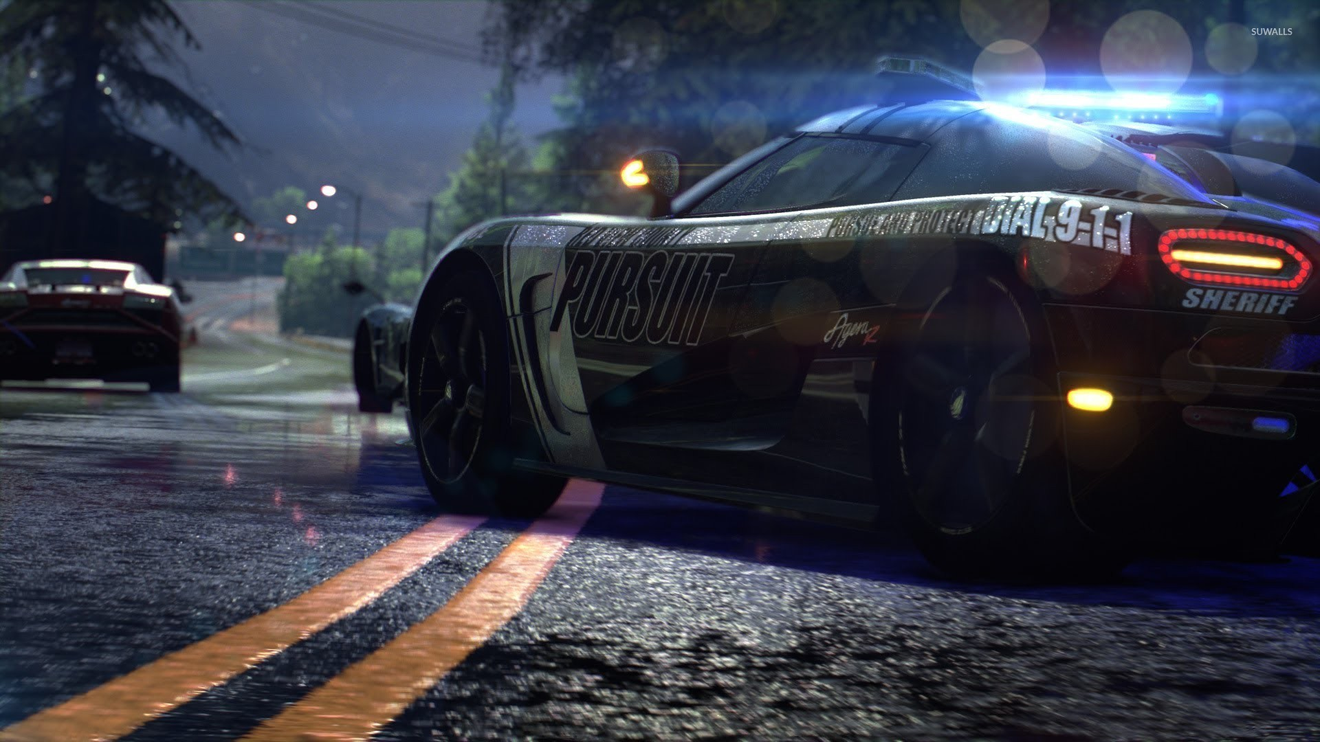 Ford Mustang Gt Need For Speed Rivals Wallpaper Game