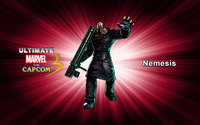 Nemesis - Ultimate Marvel vs. Capcom 3 wallpaper 2560x1600 jpg