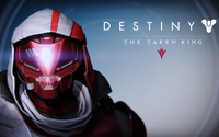 New Monarchy Hunter male helmet - Destiny: The Taken King wallpaper 3840x2160 jpg