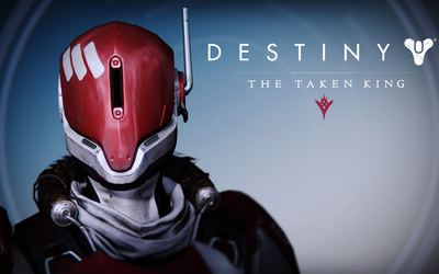 New Monarchy Titan female helmet - Destiny: The Taken King wallpaper