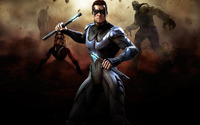 Nightwing - Injustice - Gods Among Us wallpaper 1920x1080 jpg