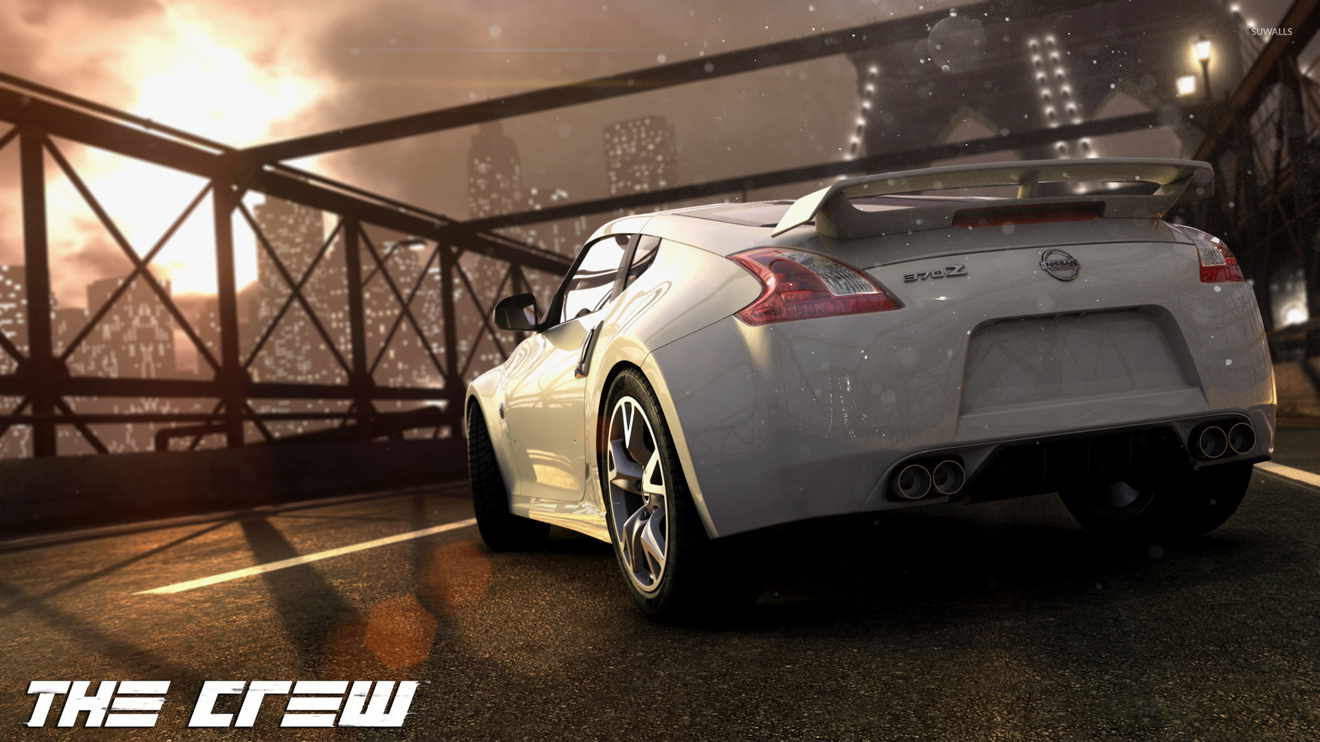 Nissan 370Z   The Crew Wallpaper