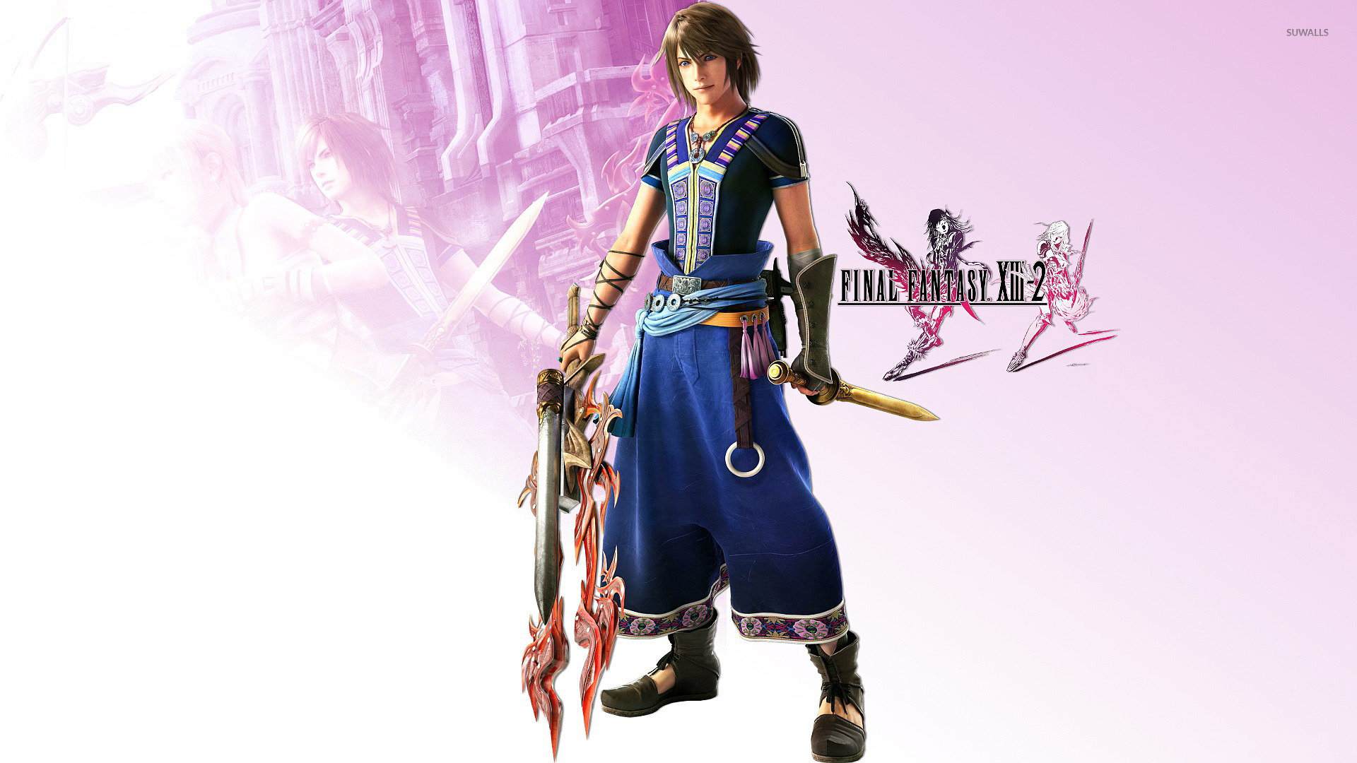 Final Fantasy XIII - Vanille Gameplay 01 - YouTube