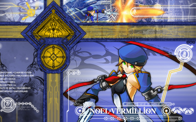 Noel Vermillion - BlazBlue wallpaper