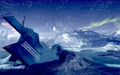Normandy - Mass Effect 2 wallpaper