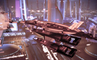 Normandy - Mass Effect 2 [2] wallpaper 2560x1440 jpg