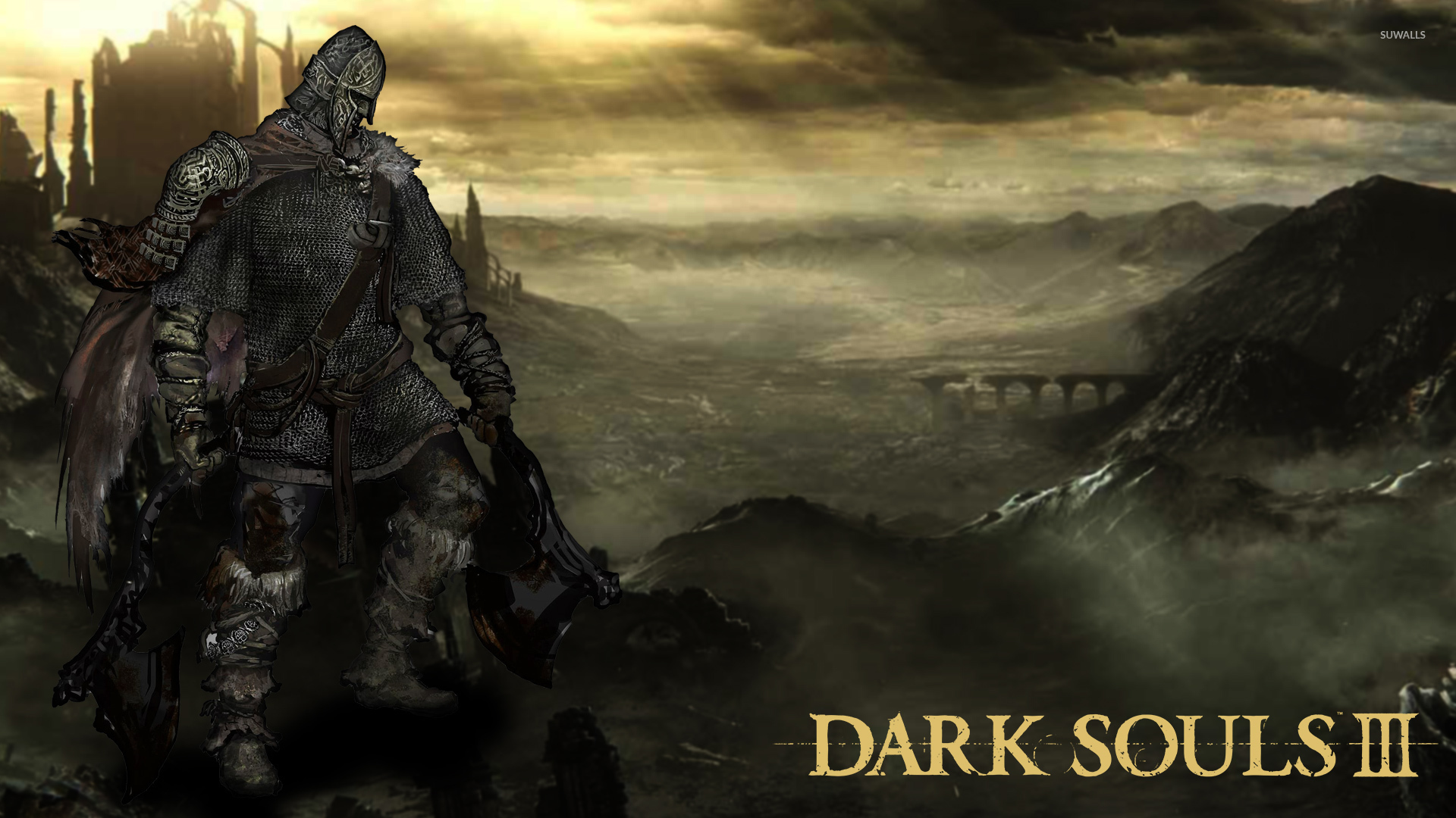 Violent video games Northern Warrior in in Dark Souls III