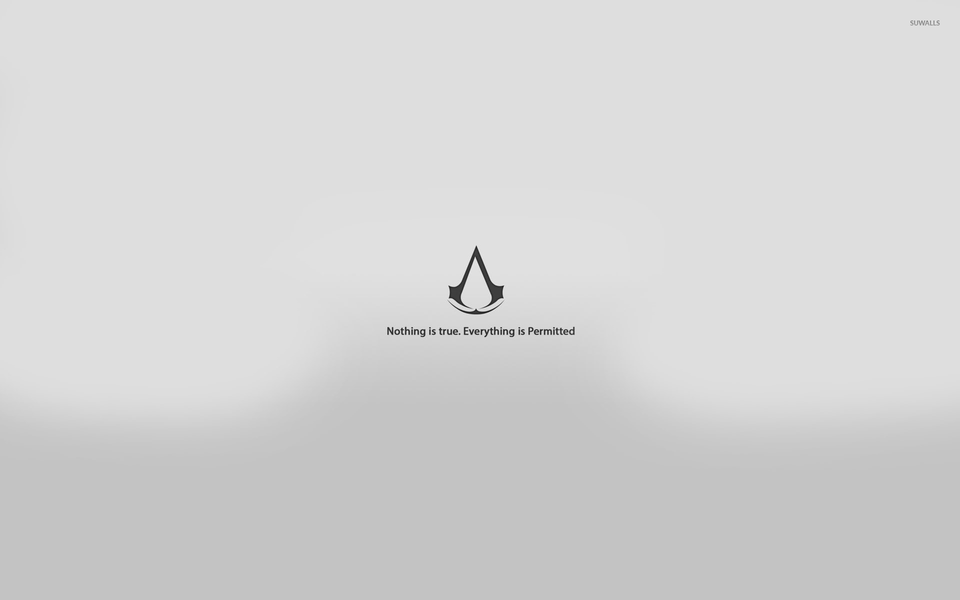 Nothing Is True Everything Is Permitted Wallpaper Game