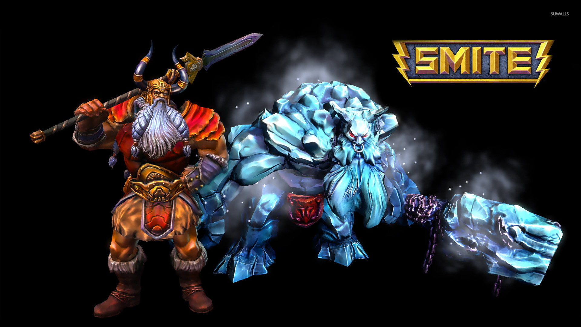 Odin and Ymir - Smite wallpaper - Game wallpapers - #22399