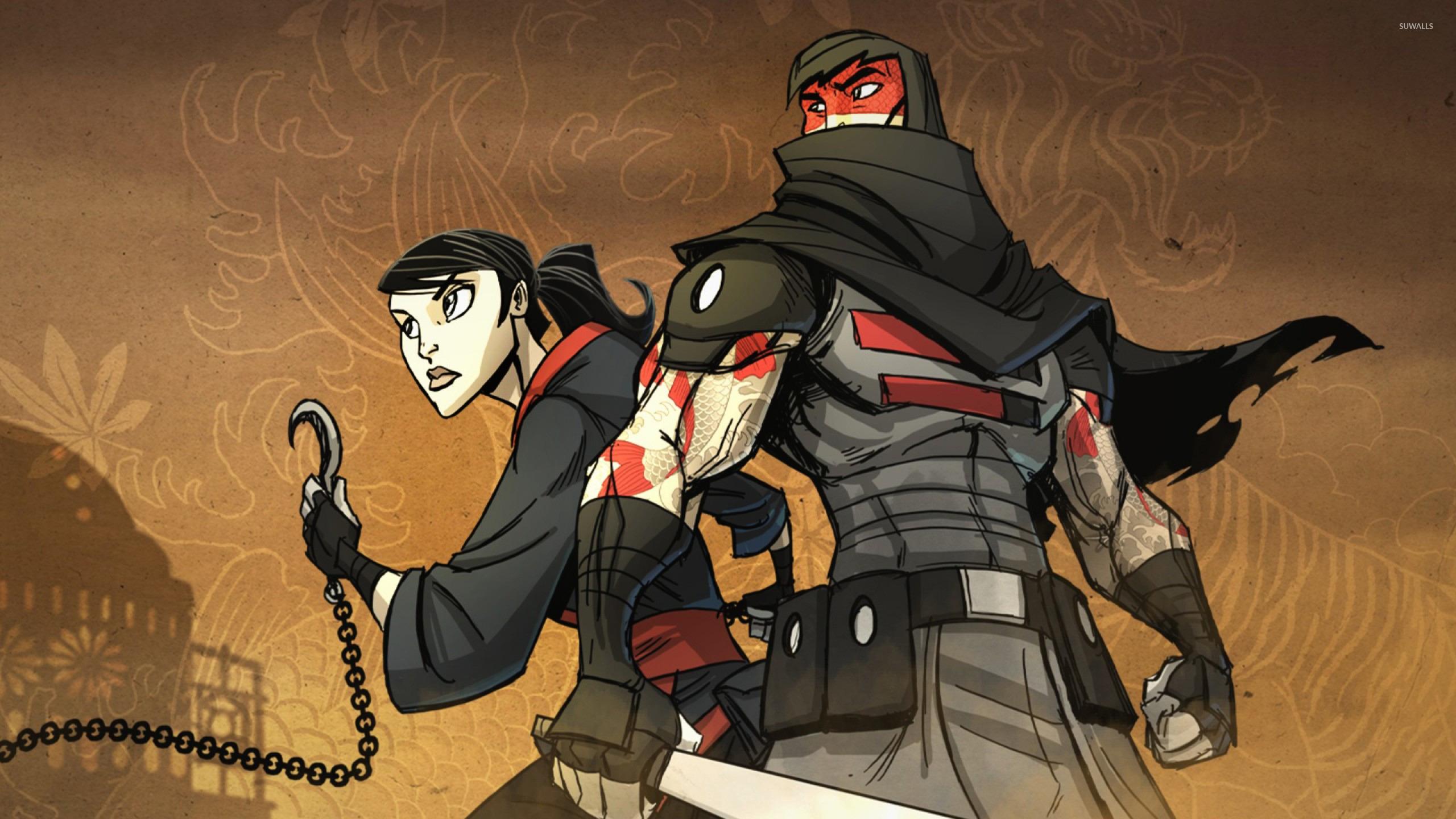 Ora And Marked Ninja Mark Of The Ninja Wallpaper Game