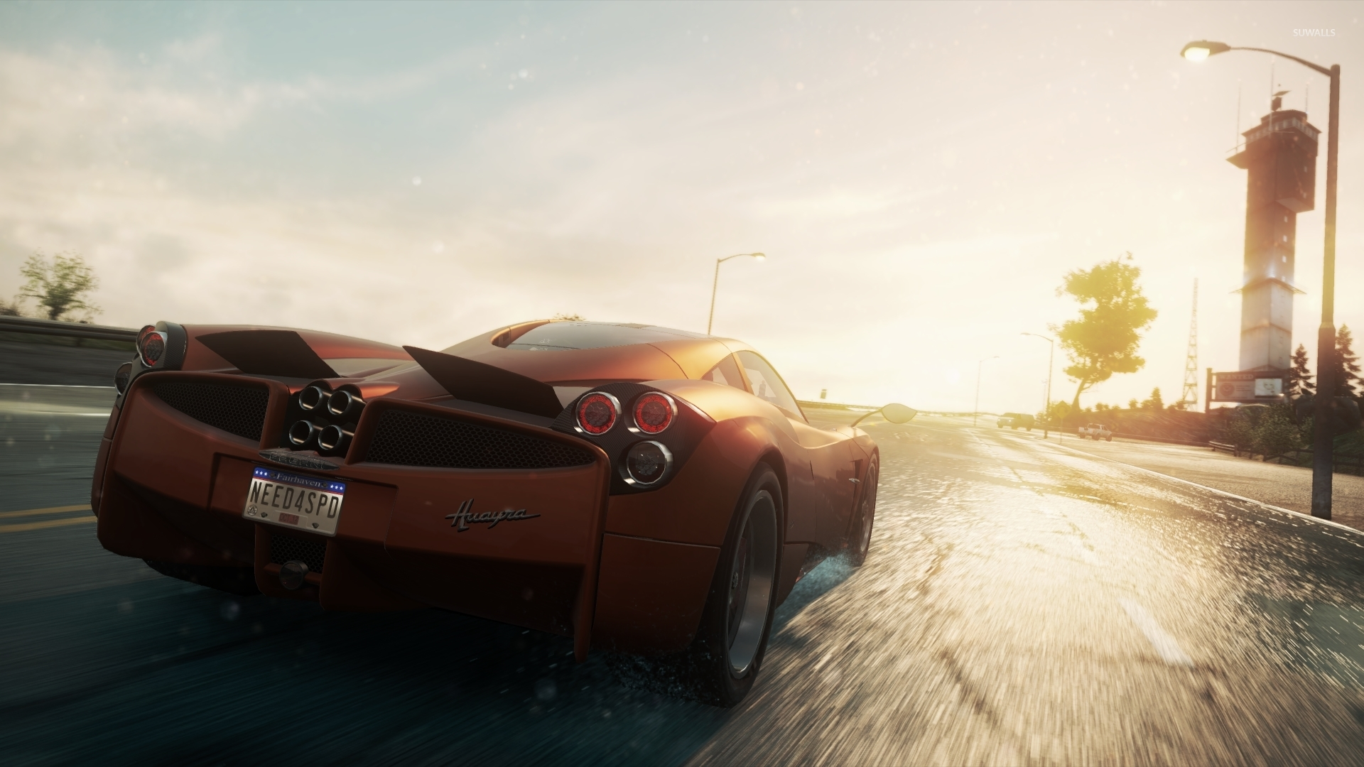 pagani huayra - need for speed: most wanted wallpaper - game