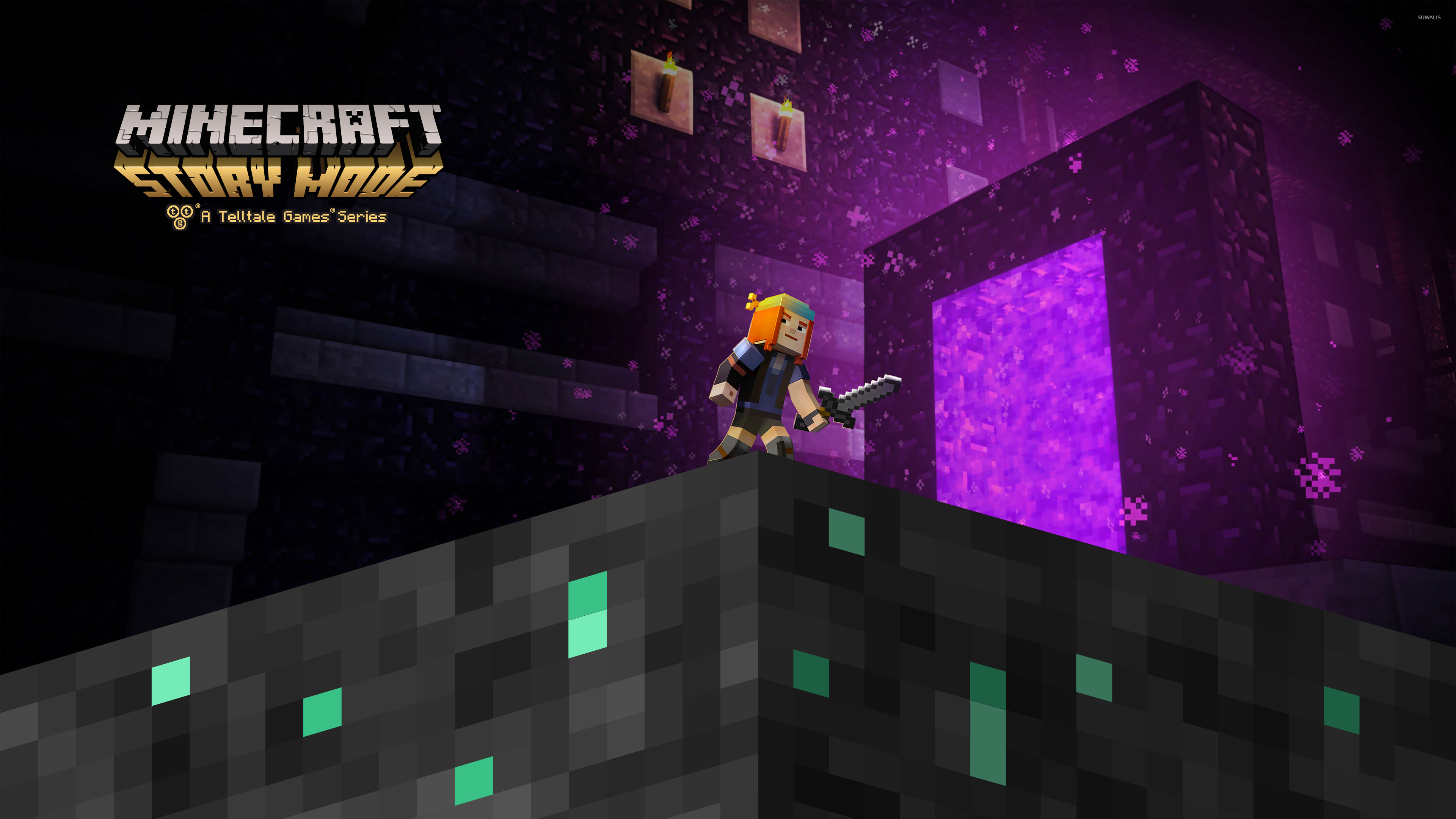 Amazing Wallpaper Minecraft Action - petra-in-jesse-in-minecraft-story-mode-50061-3840x2160  2018_162164.jpg