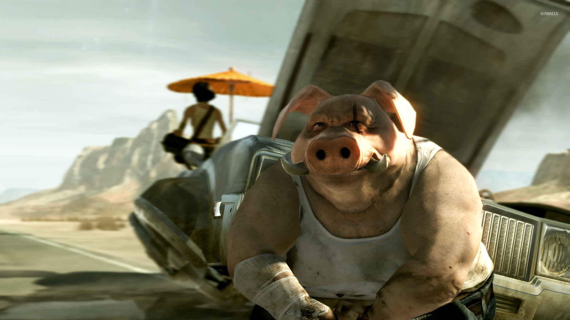 peyj beyond good and evil 2 wallpaper game wallpapers