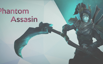 Phantom Assassin in Dota 2 wallpaper