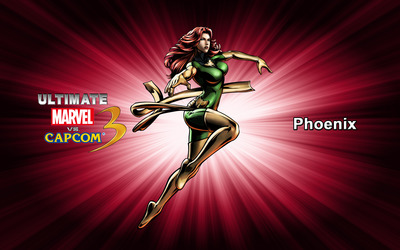Phoenix - Ultimate Marvel vs. Capcom 3 wallpaper